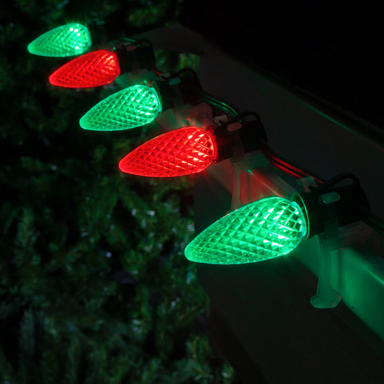 C9 Green Red Led Commercial Christmas