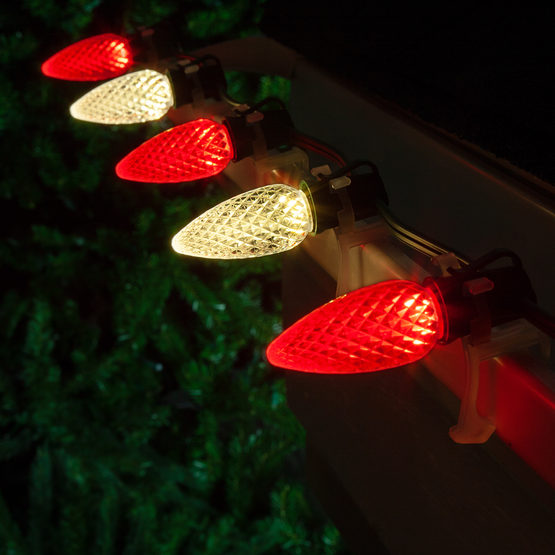 C9 Cool White Red Led Commercial